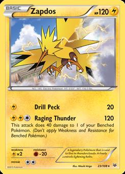 Zapdos -- Roaring Skies Pokemon Card Review | Primetime ...