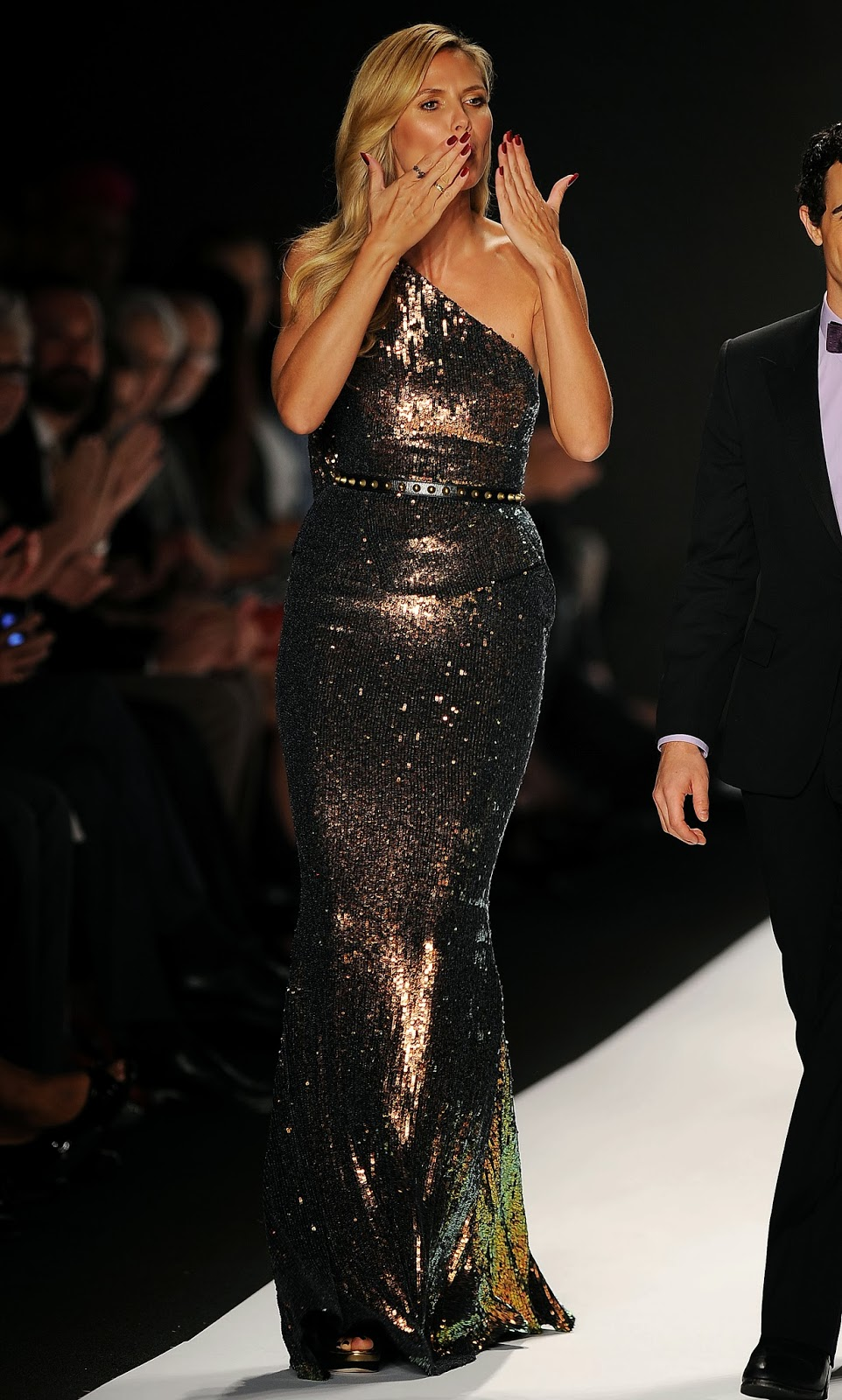 Heidi Klum Heidi Klum At Project Runway Spring 2014