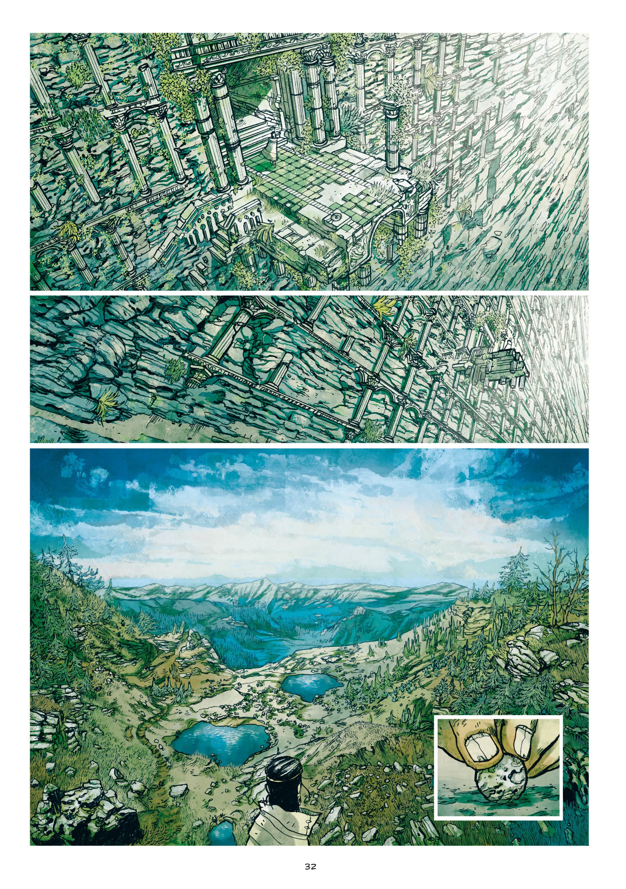 Read online Adrastée comic -  Issue #1 - 33