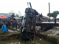 Ago Tuhan, Mobil Masuk Kolam di Jalan Medan-Sidikalang Tewaskan 9 Orang Batak