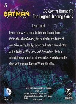 DC Batman The Legend The Batcave Chase Card TBC-02