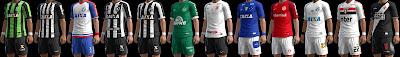 PES 2013 Campeonato Brasileirao Serie A Season 2018/2019 Kitpack by M4rcelo