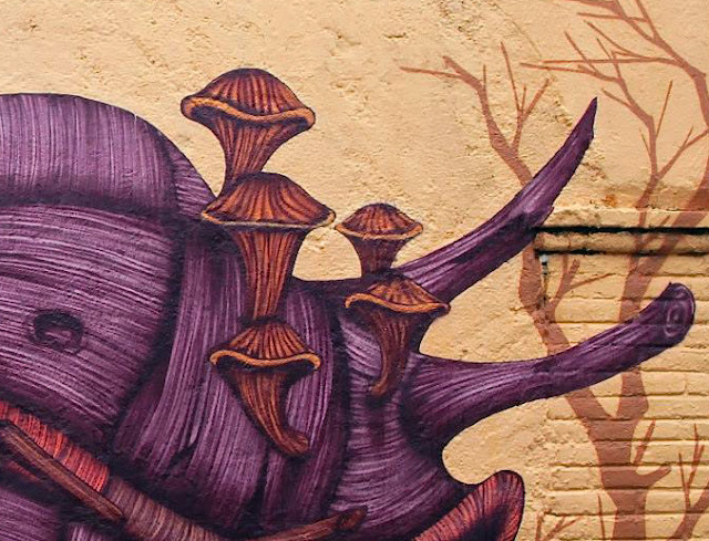 Street Art Mural By Sego For Board Dripper Urban Art Festival. 3