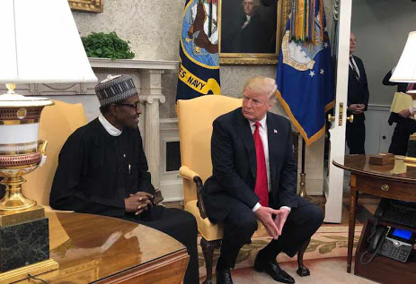 What Buhari Told President Trump In US