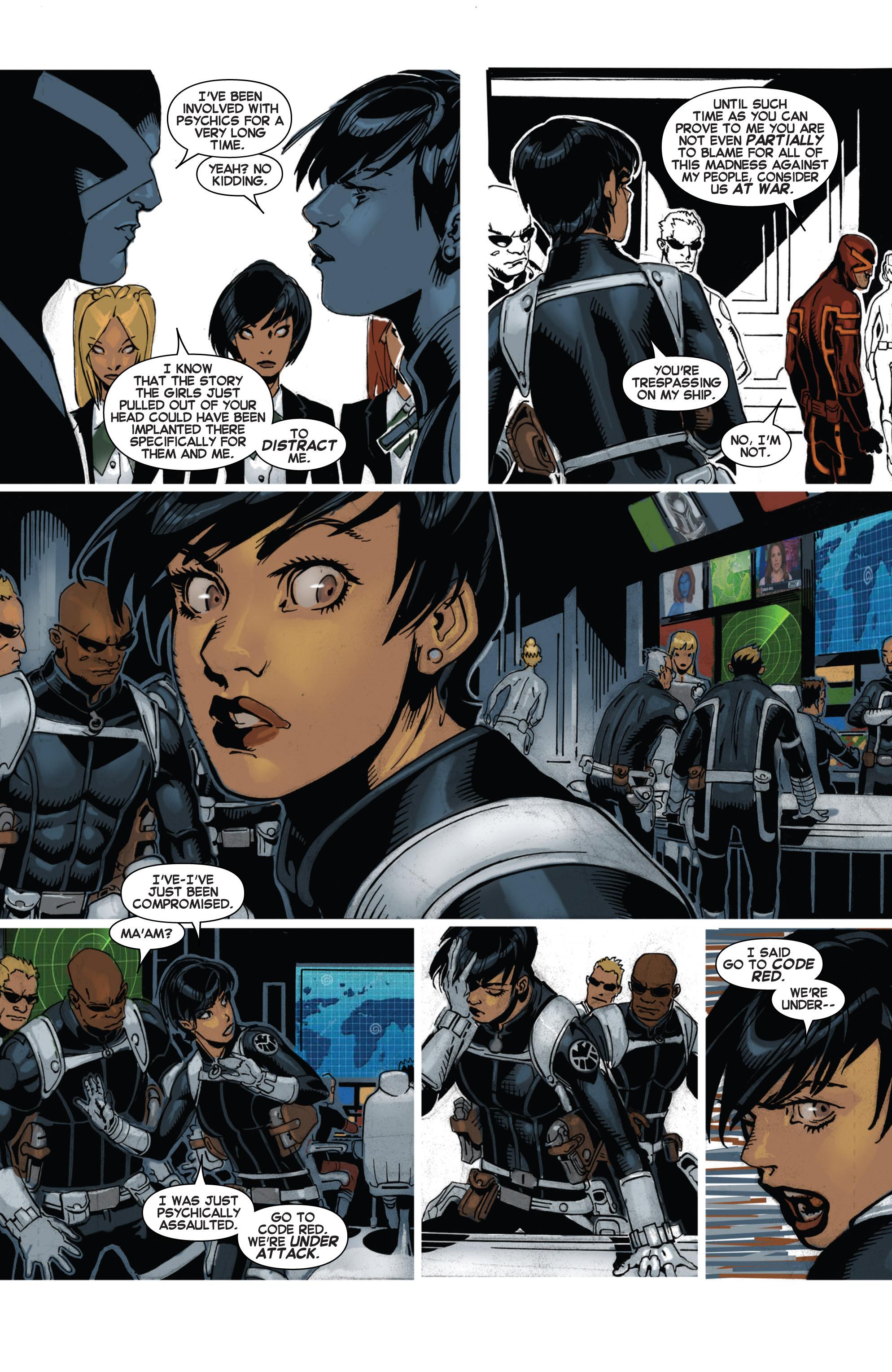 Read online Uncanny X-Men (2013) comic -  Issue # _TPB 4 - vs. S.H.I.E.L.D - 27