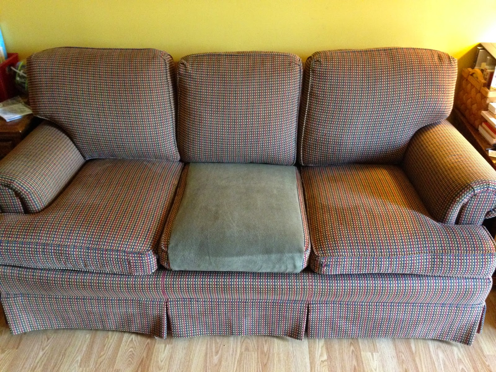 how to fix sofa back cushions french connection coast review babyfingers quick and easy 15 minute for damaged