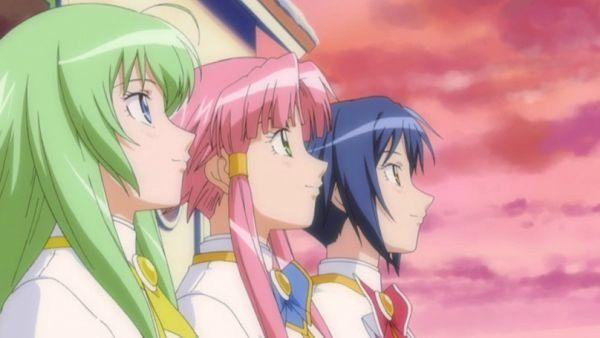 Anime Aria - Anime rileks - Akari Alice Aika border=