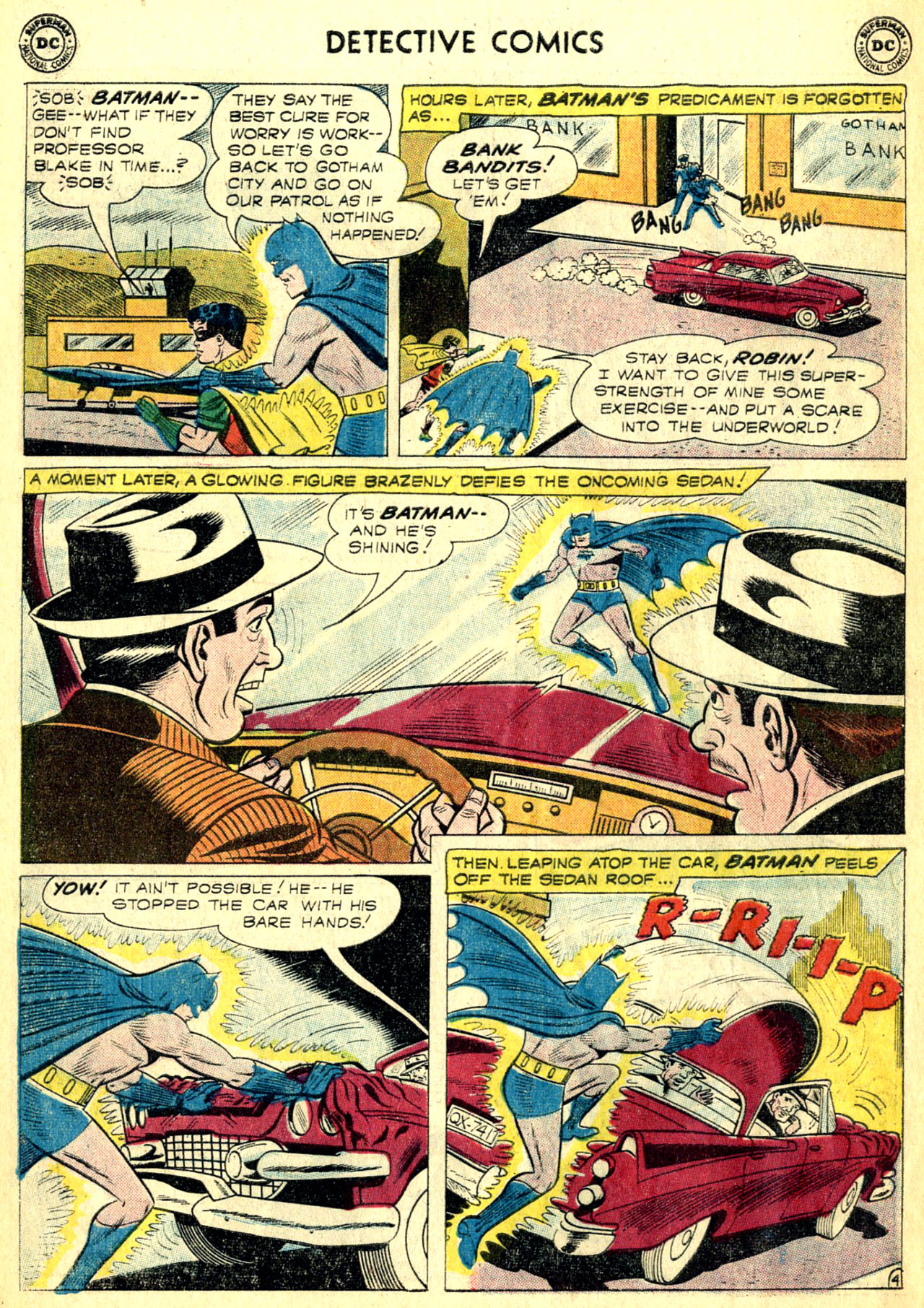 Read online Detective Comics (1937) comic -  Issue #268 - 6