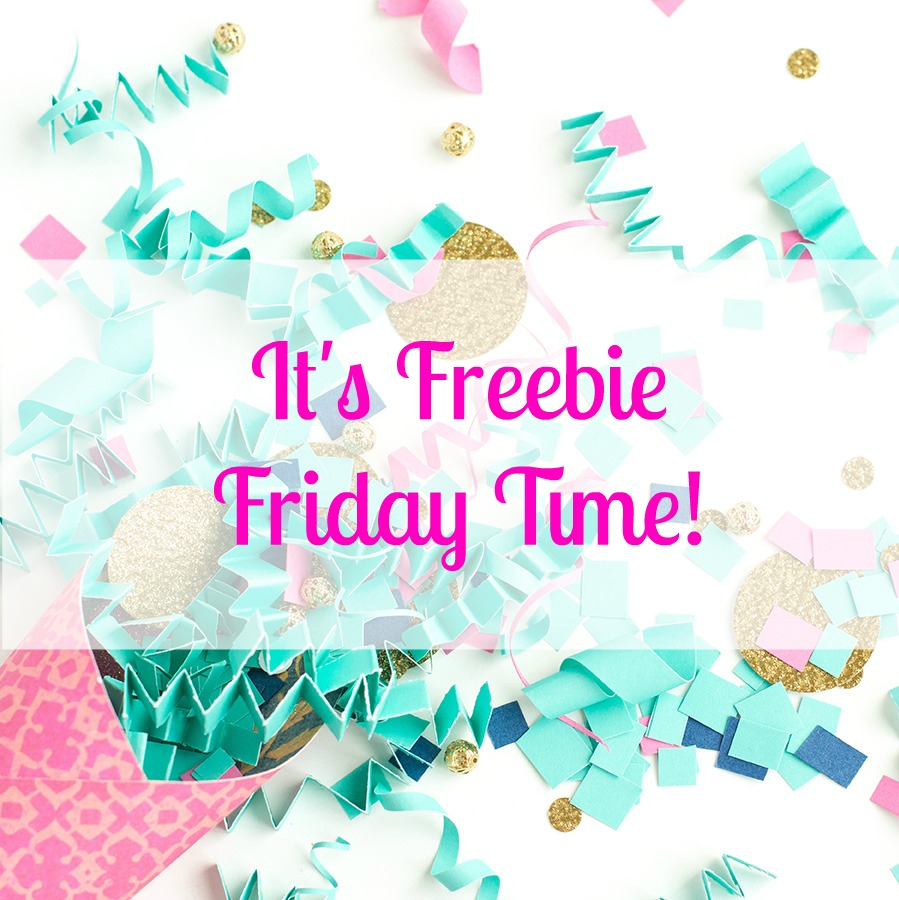 Friday freebies svg