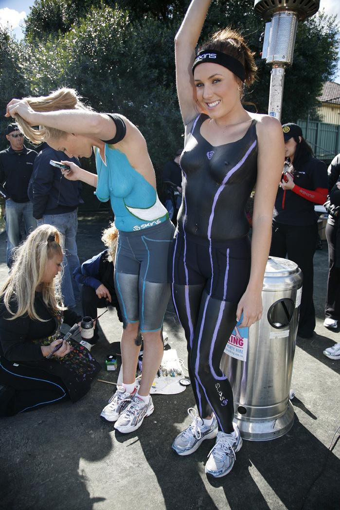 Bodypainting Australia News: Skins Bodypaint Launch