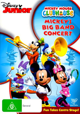 Mickey Mouse Clubhouse Mickey's Big Band Concert [Latino]