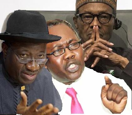 Jonathan adoke and Buhari