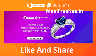 Peora Jewellery Quiz Time