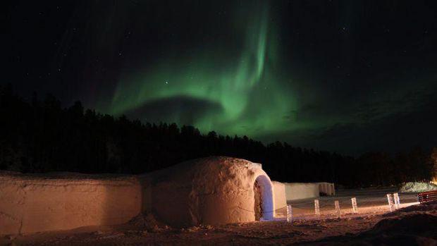 Awesome Aurora Picture at Sorrisniva Igloo Hotel, Alta, Norway