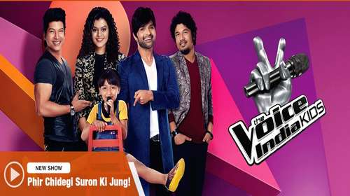 The Voice India Kids HDTV 480p 150MB 07 January 2018 Watch Online Free Download bolly4u
