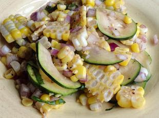 Rosted Corn Salad by Foody Schmoody