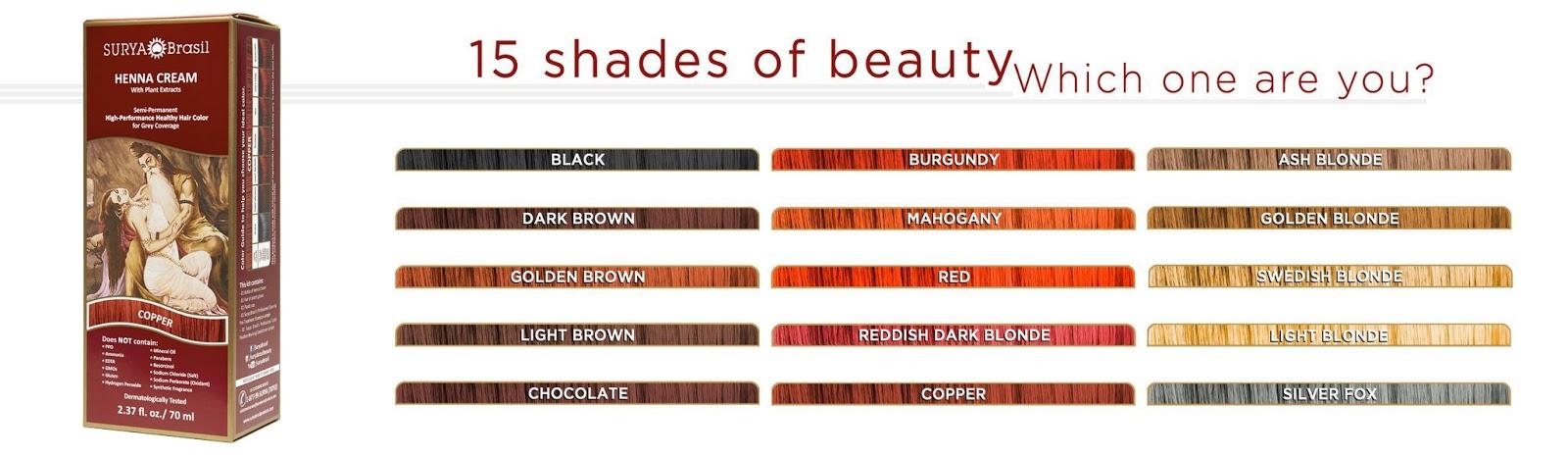 Girly Girl Giveaways Surya Brasil Henna Cream Healthy Hair Color