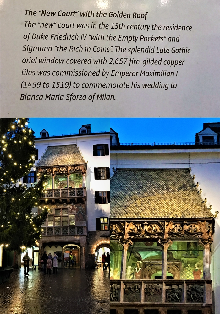Golden Roof situated beautiful Innsbruck Austria where bollywood movie Tiger Zinda Hai shot recently.