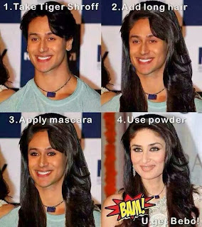 Tiger Shroff Look alike