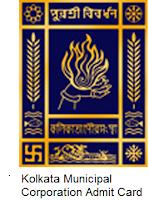 Kolkata Municipal Corporation Admit Card