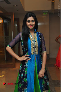 Actress Model Shamili Sounderajan Pos in Desginer Long Dress at Khwaaish Designer Exhibition Curtain Raiser  0040.JPG