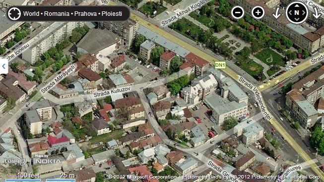 Second Hand Romania Harta Ploiesti Strazi Satelit