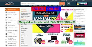 Lazada.co.id Toko Online TERPERCAYA 100%
