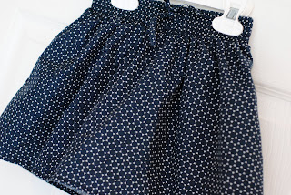 Thrifr store find- black and white girl's skirt