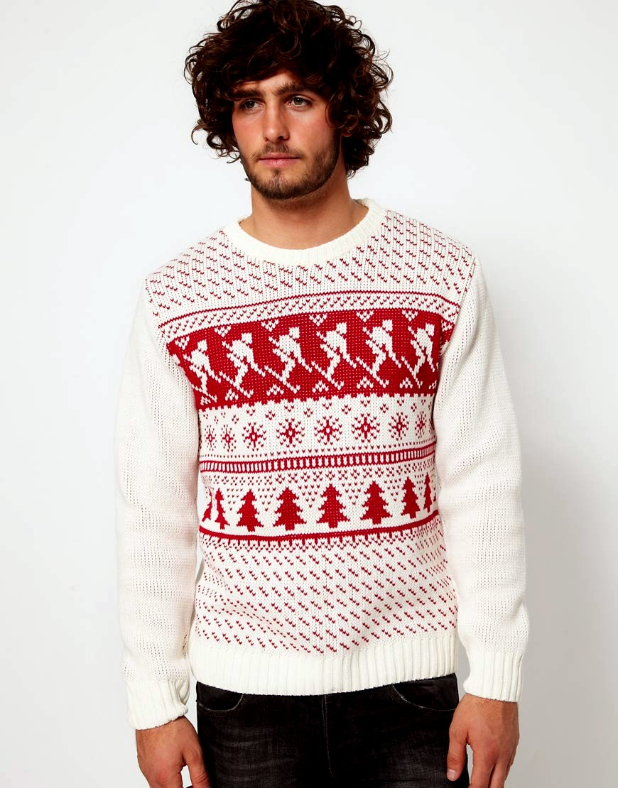 Men's Christmas Sweaters. Men's Christmas sweaters should be designed with a sense of humor in mind. Unless you're a programadereconstrucaocapilar.ml model with chiseled features and rock hard abs, you may look goofy in a funny Christmas sweater anyway. You might as well play it up for some good belly laughs.