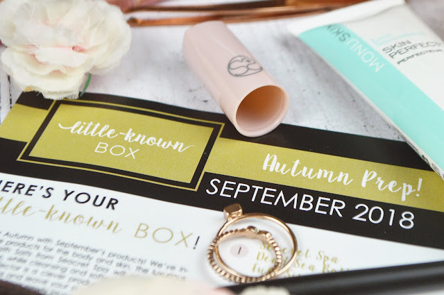 Little Known Box September 2018 Review, Lovelaughslipstick Blog