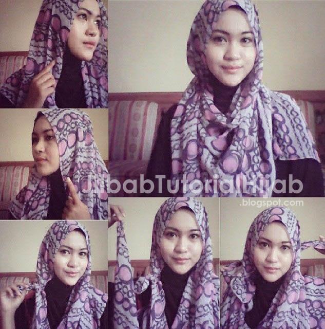 Tutorial Cara Hijab Pashmina Simple Terbaru 2016 sehari hari