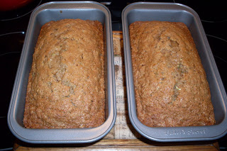 Old Farmer's Almanac, Best Home Baking Cookbook, Zucchini Bread.