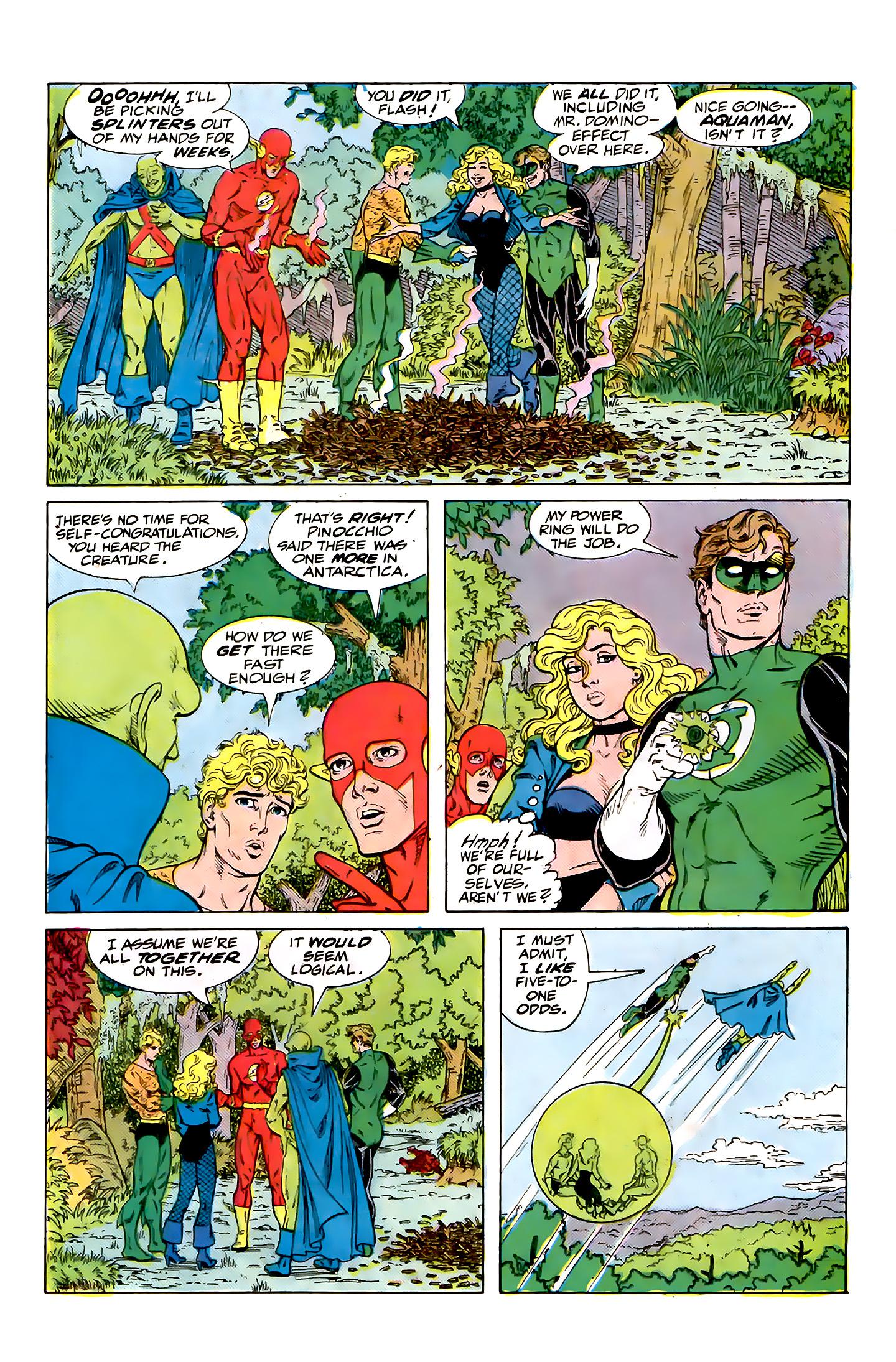 Read online Secret Origins (1986) comic -  Issue #32 - 35