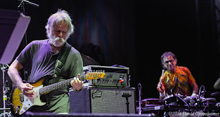 Bob Weir and Mickey Hart performing at Lock'n
