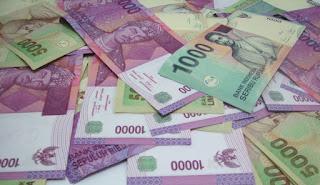 bahasa arab nominal pecahan uang rupiah