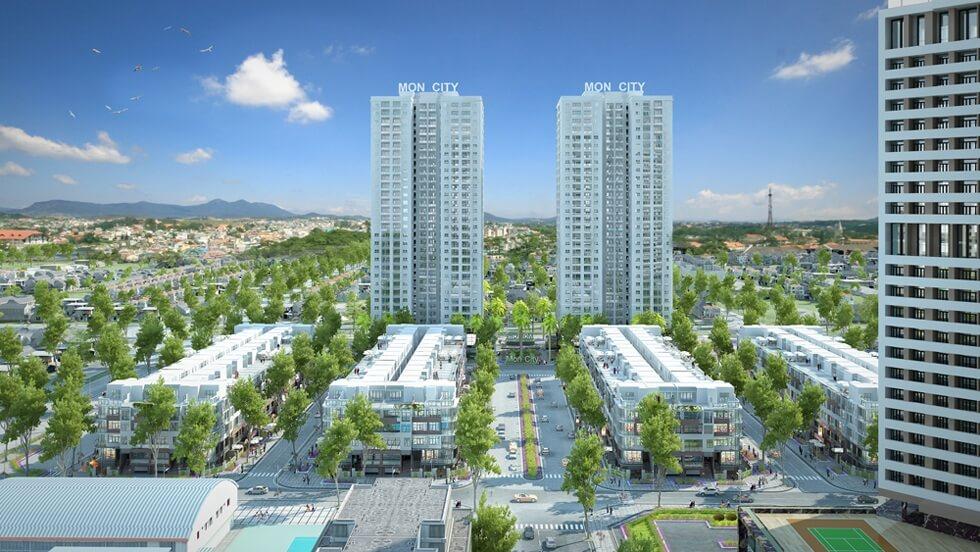 Dự án Hd Mon City của Hải Đăng.