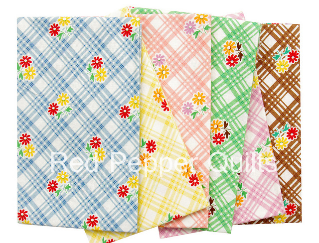 30's Playtime 2015 by Chloe's Closet for Moda | Red Pepper Quilts