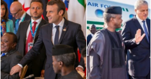 Acting President Yemi Osibanjo joins Trump, Macron and other world leaders at the G7 Summit in Italy (photos)