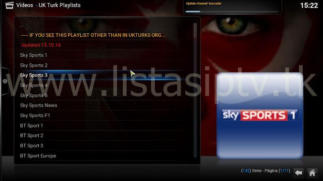 Como Instalar o Add-On UK Turk Playlists no KODI - Futebol Ao Vivo, Esportes, Filmes, Séries, Documentários, +18 e Muito mais