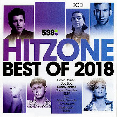 538 Hitzone Best Of 2018 2CD Mp3 320 Kbps