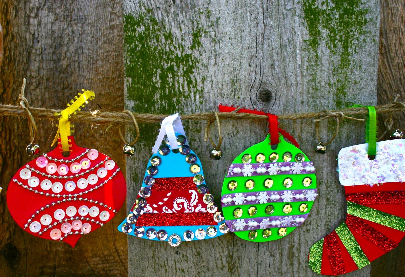 christmas ornaments banner - photo #44