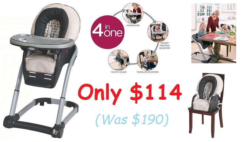 graco high chair blossom nilkamal chairs price list south suburban savings: sweet deals on + free s&h!