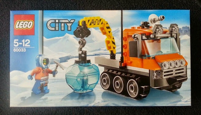 LEGO City Arctic Ice Crawler 60033 Review Pack Shot