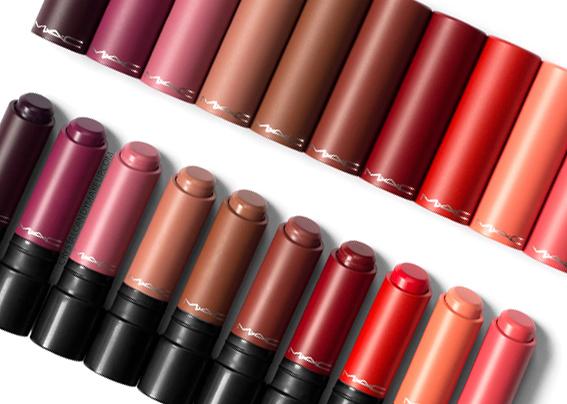 MAC Liptensity Lipsticks New Shades Review