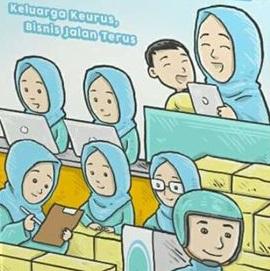 Resep Ampuh Membangun Sistem Bisnis Online - Keluarga Keurus, Bisnis Jalan Terus