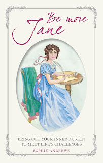 Book cover: Be More Jane by Sophie Andrews, illustrated by Jane Odiwe