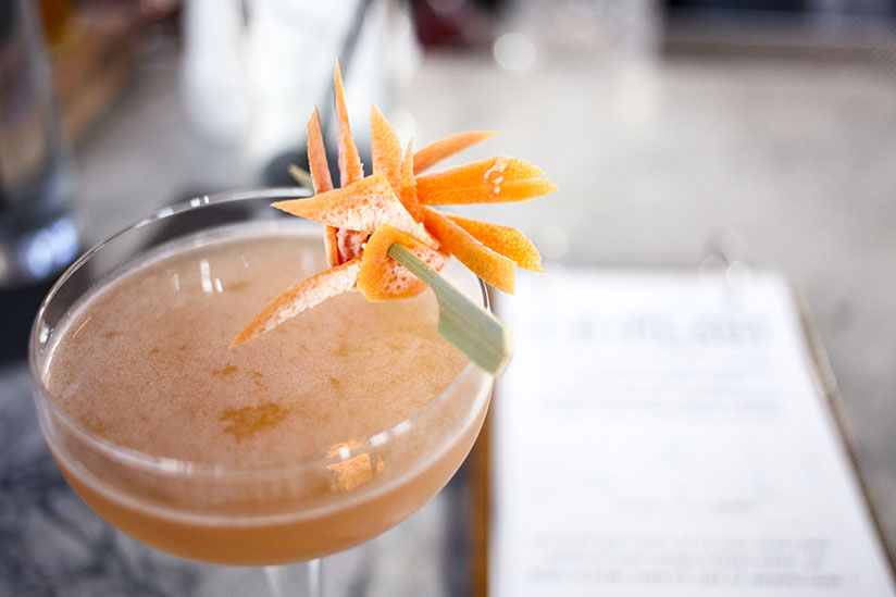 The Sugar Ray cocktail at the Ice Plant in St Augustine