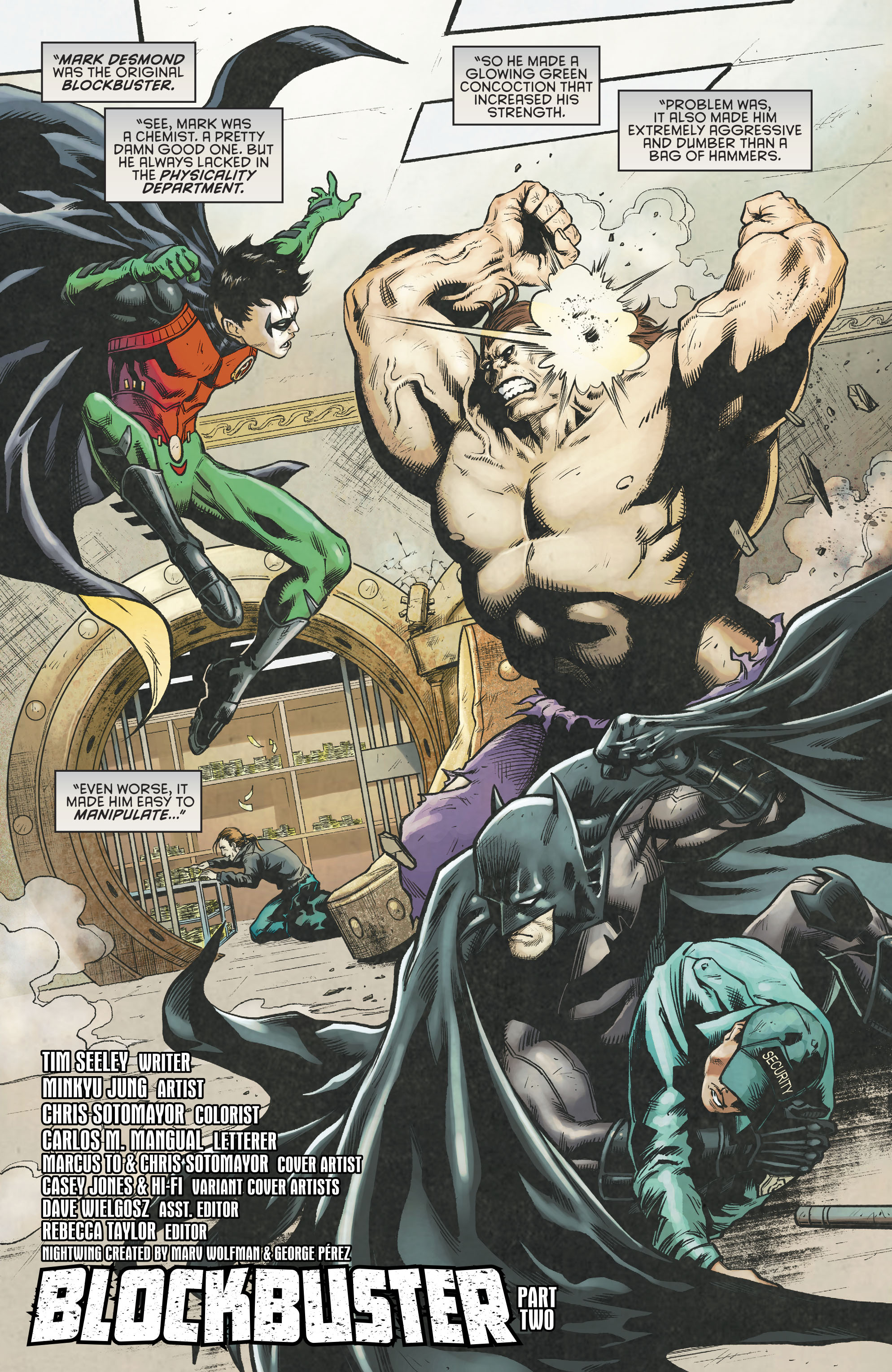 Read online Nightwing (2016) comic -  Issue #23 - 4