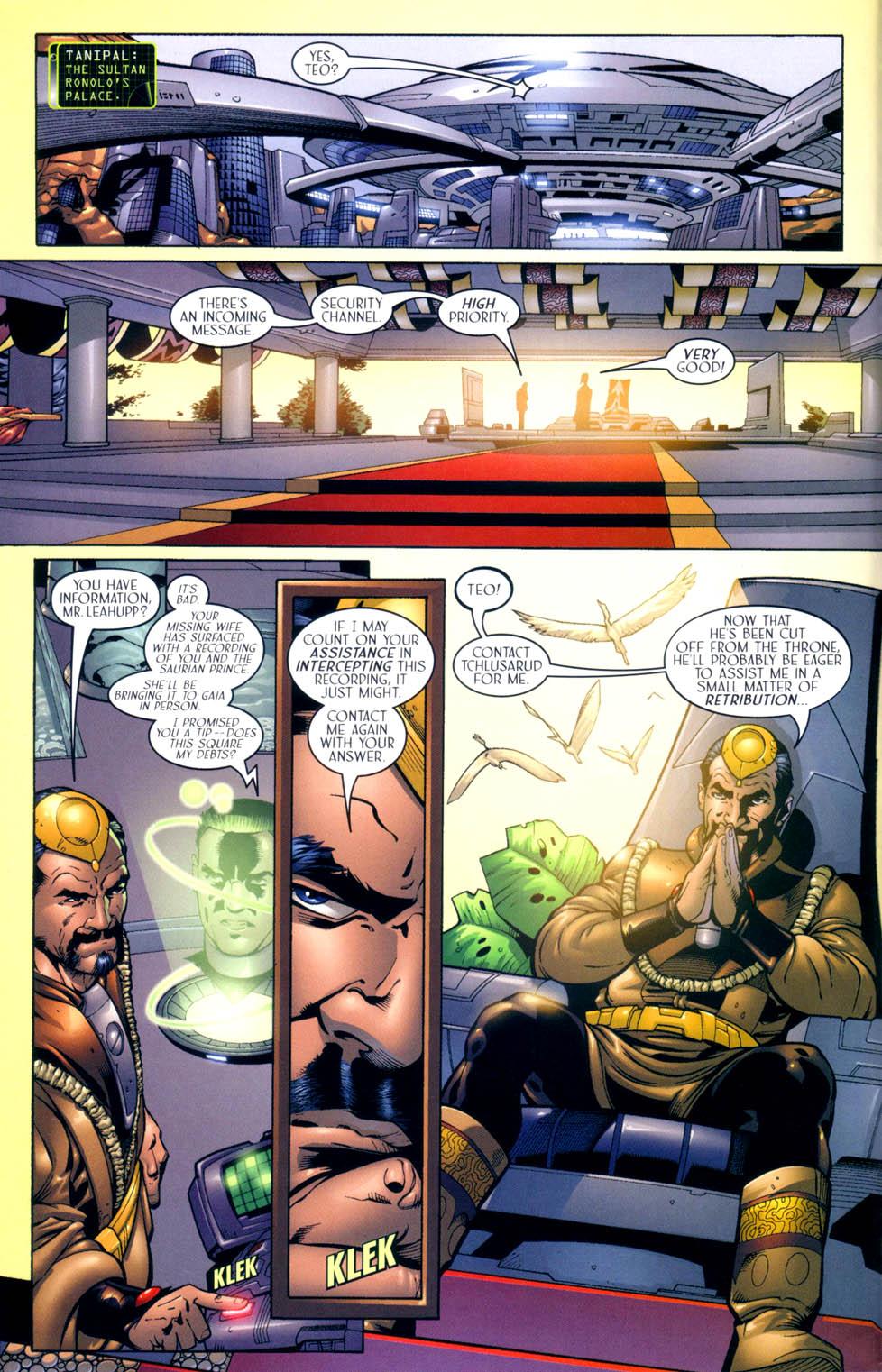 Read online Sigil (2000) comic -  Issue #10 - 11