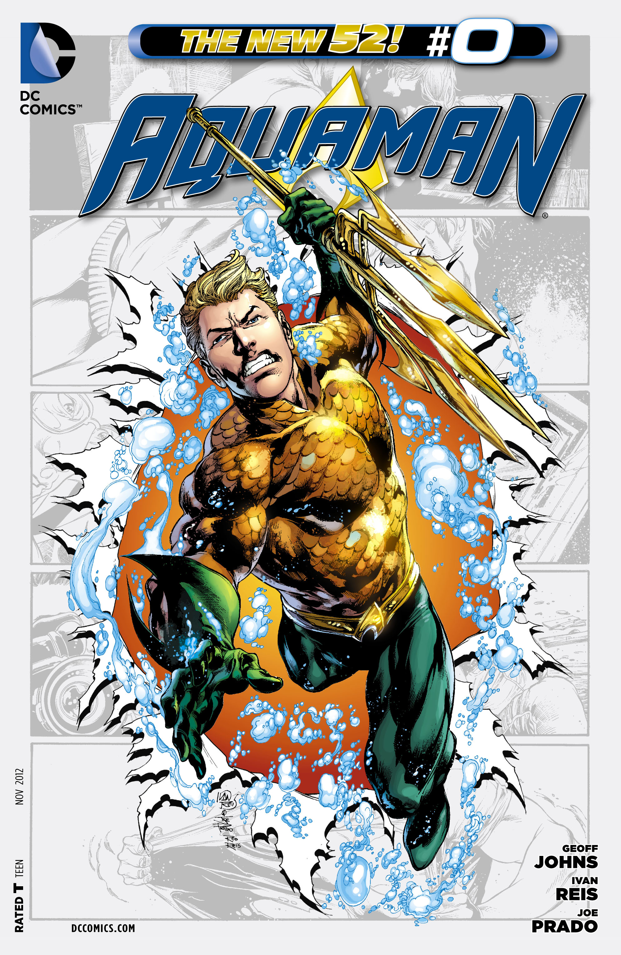 Read online Aquaman (2011) comic -  Issue #0 - 1